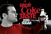 Wayne Rooney is the face of 'Bloke' Coke Zero